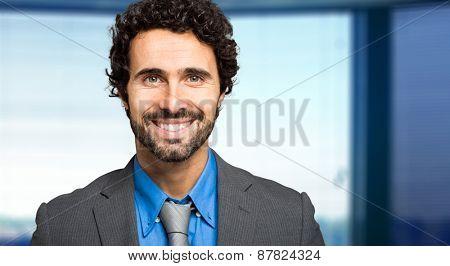 Portrait of a smiling business man