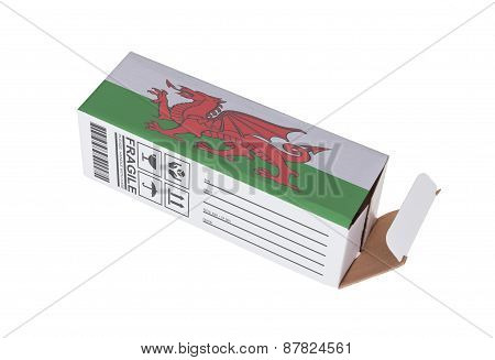 Concept Of Export - Product Of Wales