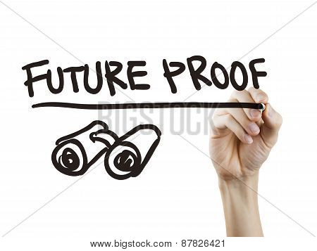 Future Proof Words Written By Hand