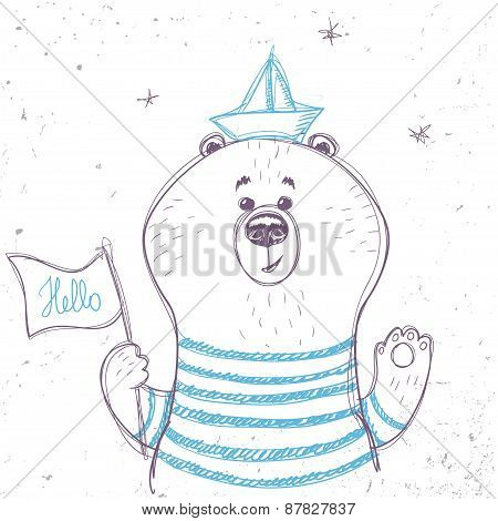 bear sailor