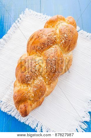 Challah On The Table