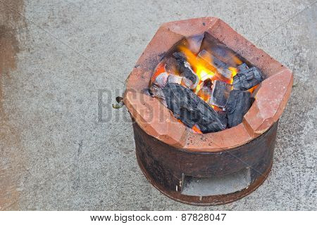 Charcoal Brazier
