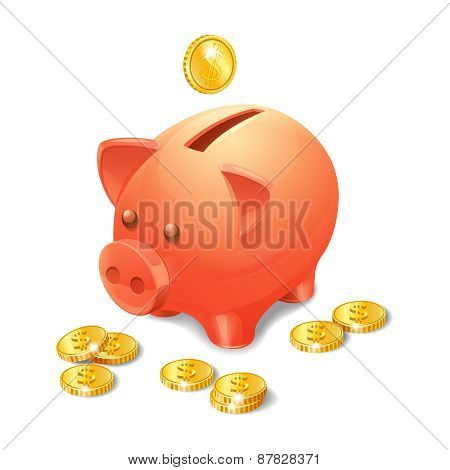 Piggy Bank Realistic