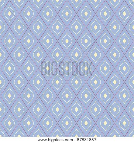 Geometric Modern  Seamless Colorful Pattern
