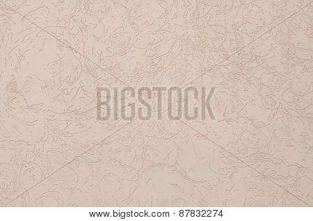 Closeup fragment shabby stucco wall. Abstract textured wall for background image.