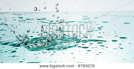 Violent Splash Of Fresh Water