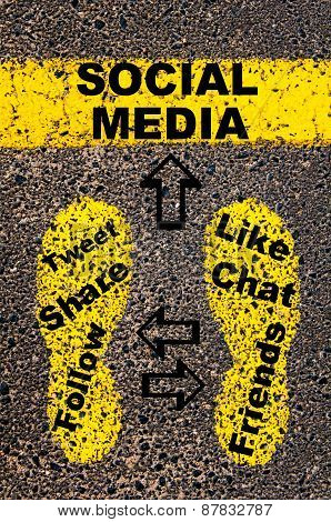 Social Media. Conceptual Image