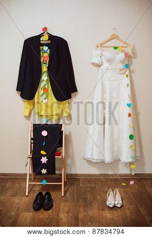 Dress The Bride And Groom