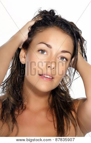 Woman With Wet Hair
