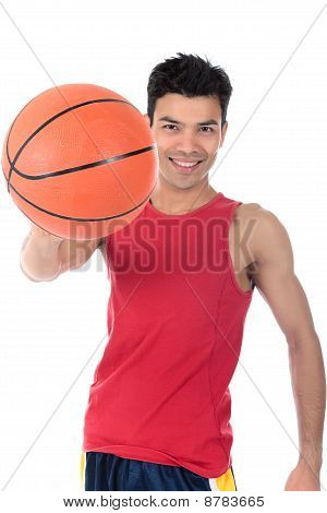 Nepalese Man Basketball Player