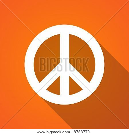 Long Shadow Peace Icon