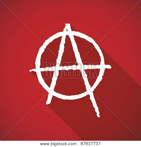 Long Shadow Anarchy Icon