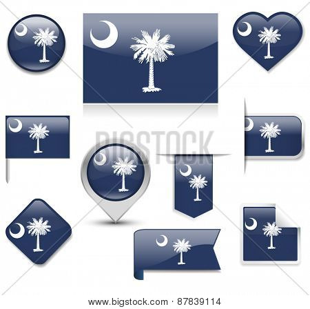 South Carolina Flag Collection