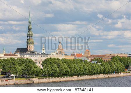 View On Riga, Latvia