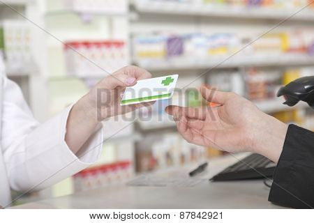 Card Payment In Pharmacy