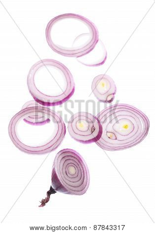Whole bulb red onion