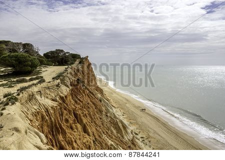 Western Algarve Cliffs Atlantic Beach Scenario.