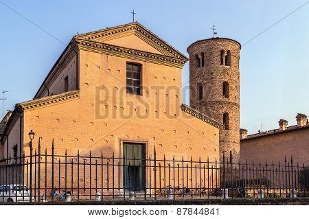 Church Of Santa Maria Maggiore, Ravenna, Italy