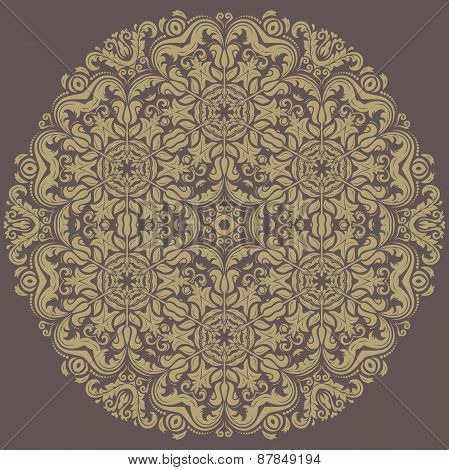 Orient  Pattern. Abstract Ornament