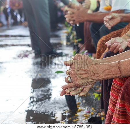 Songkran Festival - Thai Older Person Day