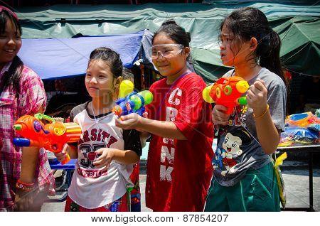 Songkran Girls
