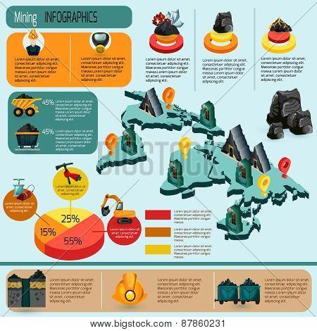 Mining Infographics Set
