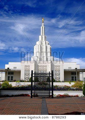 Templo Mormón Idaho Falls