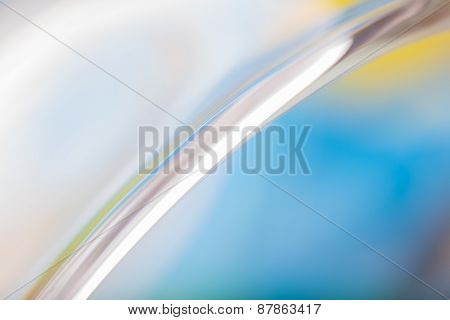 Thick Glass Abstract