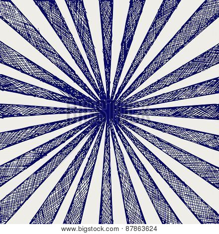 Circus Sunburst Background