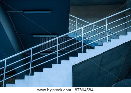 Closeup image of a stairs