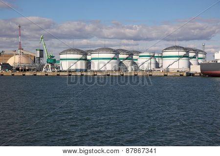 Oil Dock