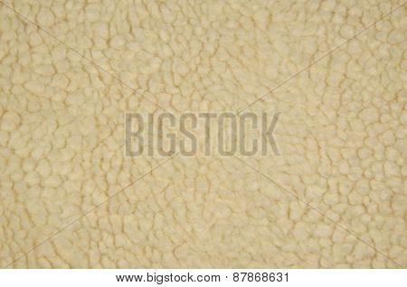 Raw Creme Wool