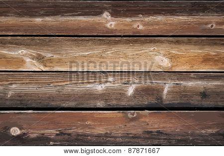 wooden wall, vector