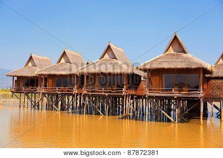 Hotel On Inle Lake, Myanmar
