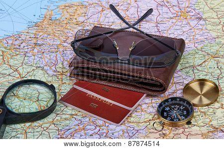 Travel Arrangement. Travel Concept.
