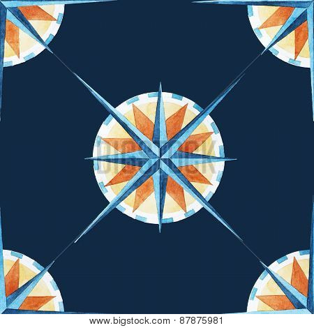 Wind rose pattern