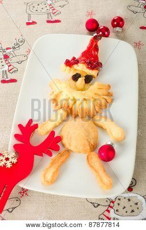 Baked Santa Claus