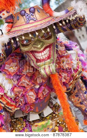 Demon Disguise In Carnival Of Boca Chica