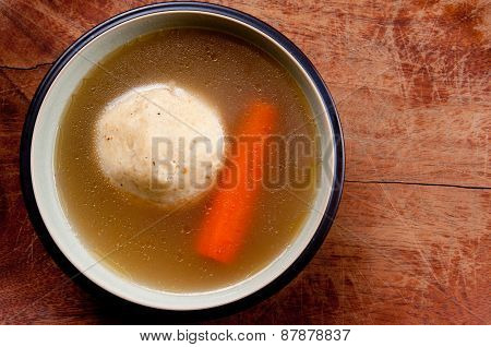 Home Made Matzoh Ball Soup