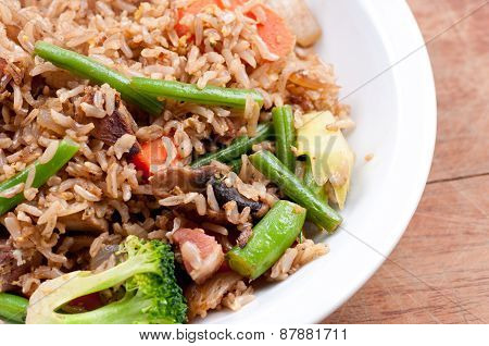 Pork Stirfry With Fresh Vegetables