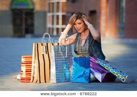 Chocante de compras.