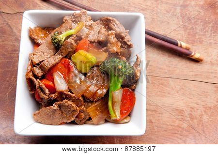 Home Made Beef Stir Fry