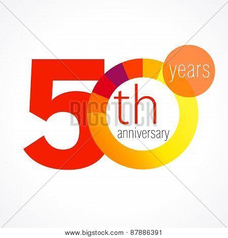 50 anniversary chart logo