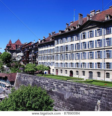 Old Town Of Bern, The Swiss Capital And Unesco World Heritage City (Switzerland)