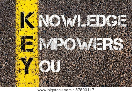 Knowledge Empowers You - Key Concept