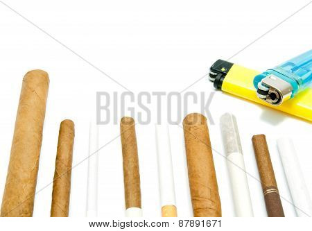 Cigars And Lighters