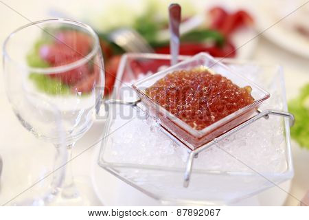 Cold Red Caviar