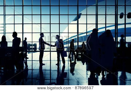 International Airport Business Travel Airport Terminal Concept