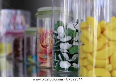Colorful Small Chewing Candies