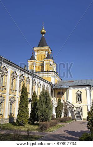 St. Nicholas Ugreshsky (Nikolo-Ugreshsky) monastery at Dzerzhinsky, Moscow region, Russia